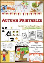 9 Autumn Printables on Mom's Library