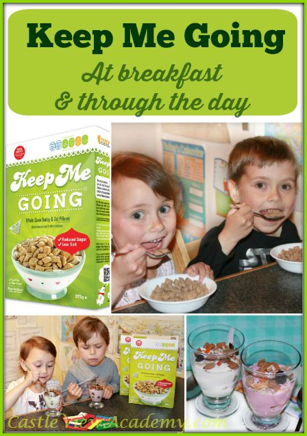 Keep Me Going - at breakfast and through the day. A review by Castle View Academy