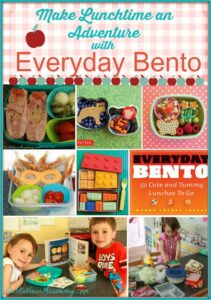 Make lunchtime an adventure with Everyday Bento. Your children will think you're Supermom when they see what's in their lunchbox. Easy to follow instructions, and the kids can help, too!