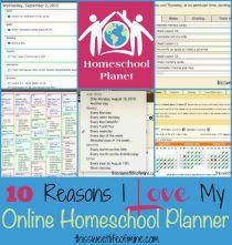 Online-Homeschool-Planner