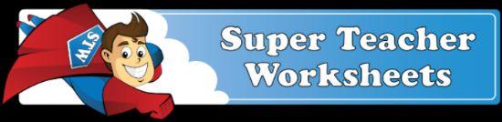 Super Teacher Worksheets, teacher helpers