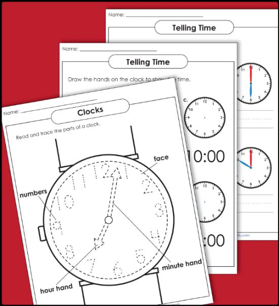 Teacher Helpers are at hand with Super Teacher Worksheets for telling time