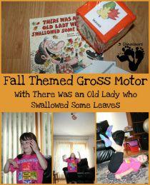 fall themed gross motor