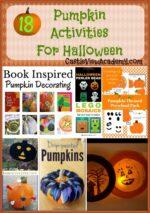 18 Pumpkin Activities for Halloween