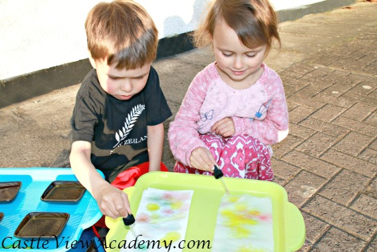 Colourful Curious Science is fun for kids
