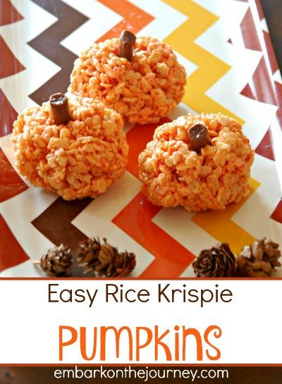 Easy-Rice-Krispie-Pumpkins