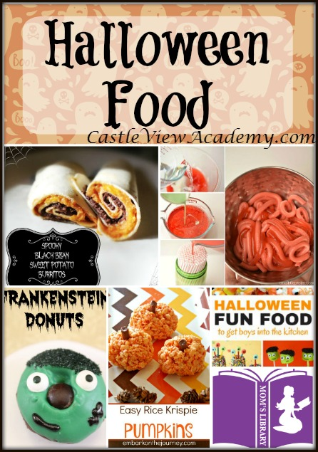 Halloween Food with Mom's Library at CastleViewAcademy.com