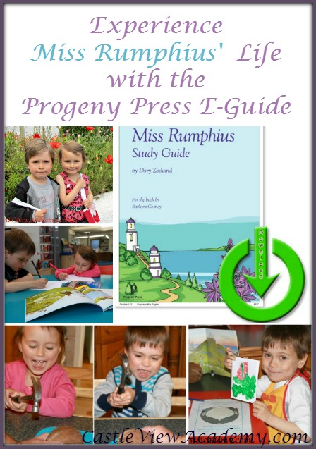 Learn about Miss Rumphius, the Lupine Lady with study guides for literature by Progeny Press and CastleViewAcademy.com