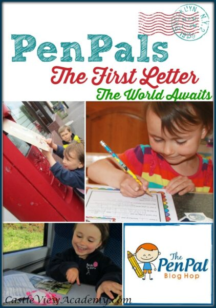 PenPals, The World Awaits with the first letter. What to say. What to send. How to make international friends with CastleViewAcademy.com