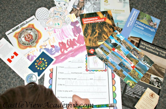 What to put in a letter to a penpal