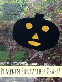 pumpkin suncatcher