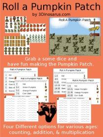 roll a pumpkin patch