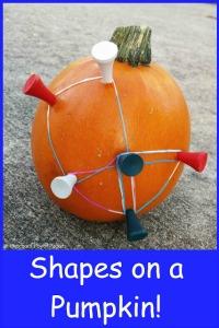 shapes on pumpkins