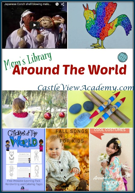 Around The World With Mom's Library at Castle View Academy