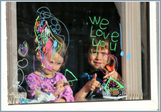 Leave messages for the ones you love with window markers