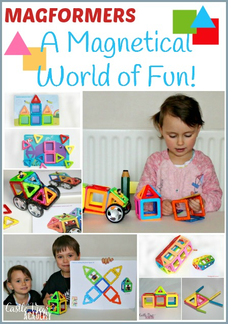 Magformers are a magnetical world of fun for kids. An educational toy that will grow with your children. A review from Castle View Academy