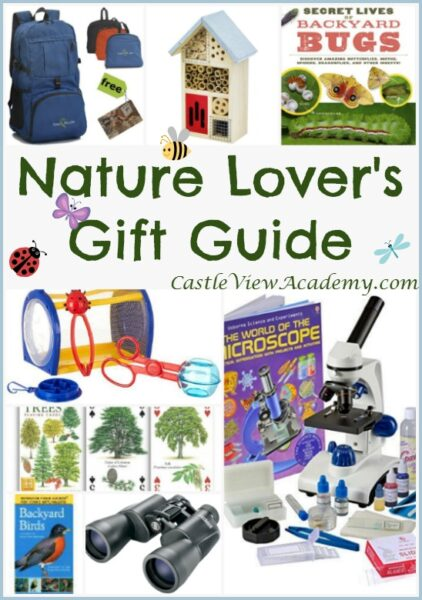 Young Nature Lover's Gift Guide by CastleViewAcademy.com