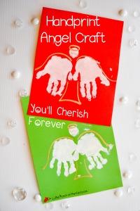 Angel Handprint Craft_A Little Pinch of Perfect 4 copy