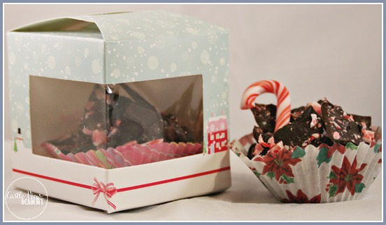 Candy cane bark makes great gifts for neighbours