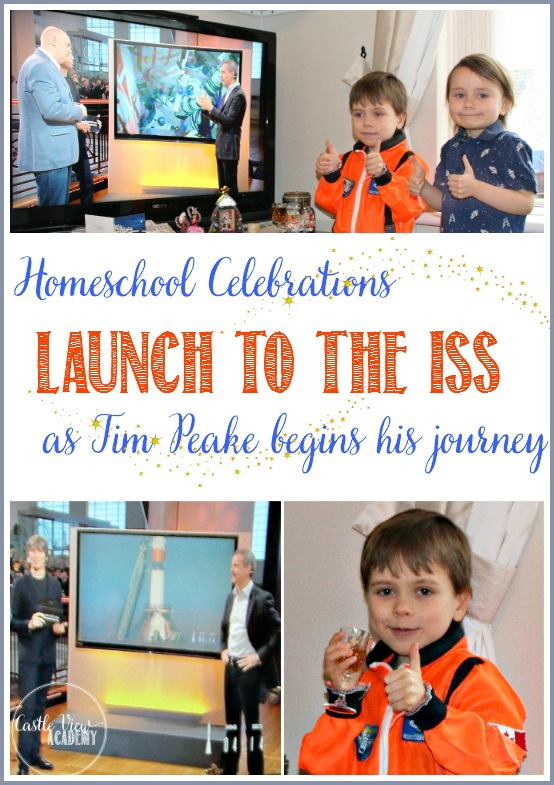 Castle View Academy homeschool celebrates Tim Peake's Launch to the ISS for the Principia mission