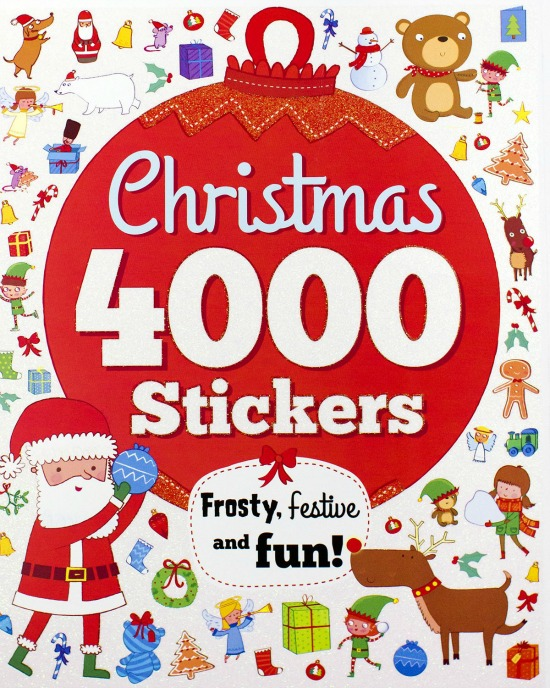 Christmas 4000 Stickers