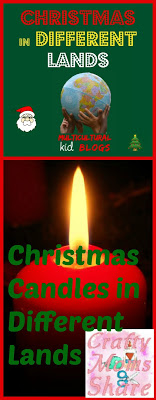 Christmas Candles Collage