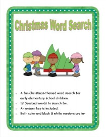 Christmas-Word-Search