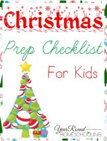 Christmas Prep Checklist