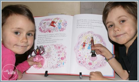 Ella Bella Ballerina and the Nutcracker crafts