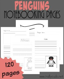 FREE-Penguins-Notebooking-Pages