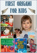 First Origami for kids, great beginning origami kits for kids by Tuttle Publishing and reviewed by Castle View Academy