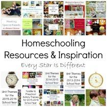 Homeschooling Resources & Inspiration