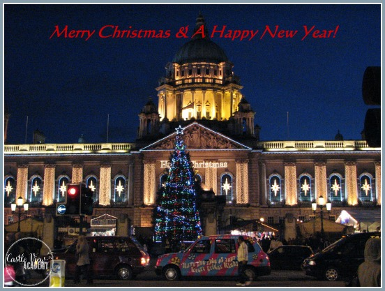 Merry Christmas from Belfast!