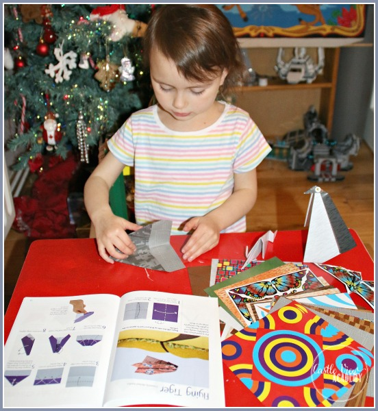 Origami kits by Tuttle Publishing are loads of fun for children