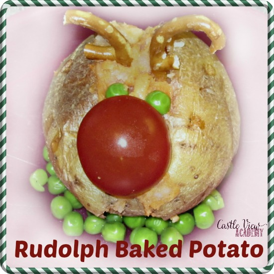 Rudolph Baked Potato by Castle View Academy