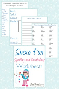 Snow-Fun-Spelling-and-Vocabulary-Worksheets-By-Year-Round-Homeschooling