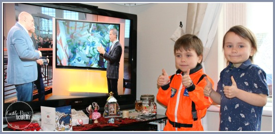 Watching the live Soyuz Principia launch to the ISS on the TV with Chris Hadfield and Brian Cox