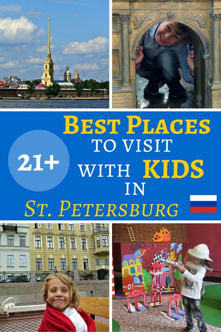21 Best places attractions visit with kids in St Petersburg