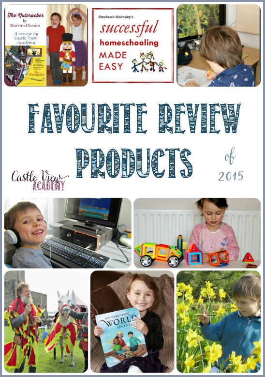 Castle View Academy's Favourite Review Products of 2015