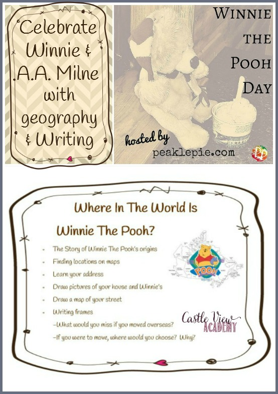 Celebrate Winnie The Pooh and A. A. Milne with Where in the World Is Winnie The Pooh