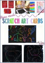 Homemade Scratch Art Cards