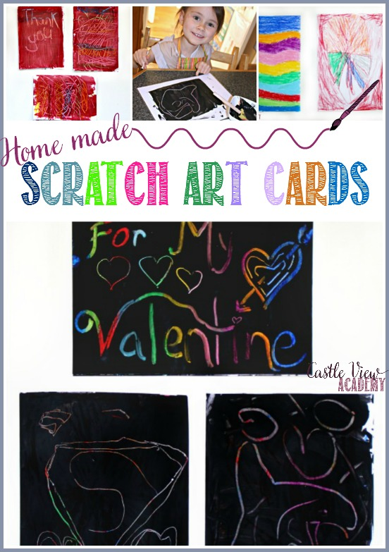 Home made Scratchart caValentine's Day or any day by Castle View Academy