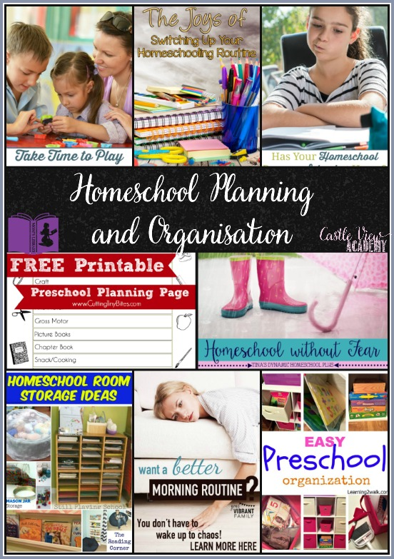 Homeschool planning and organisation on Mom's Library