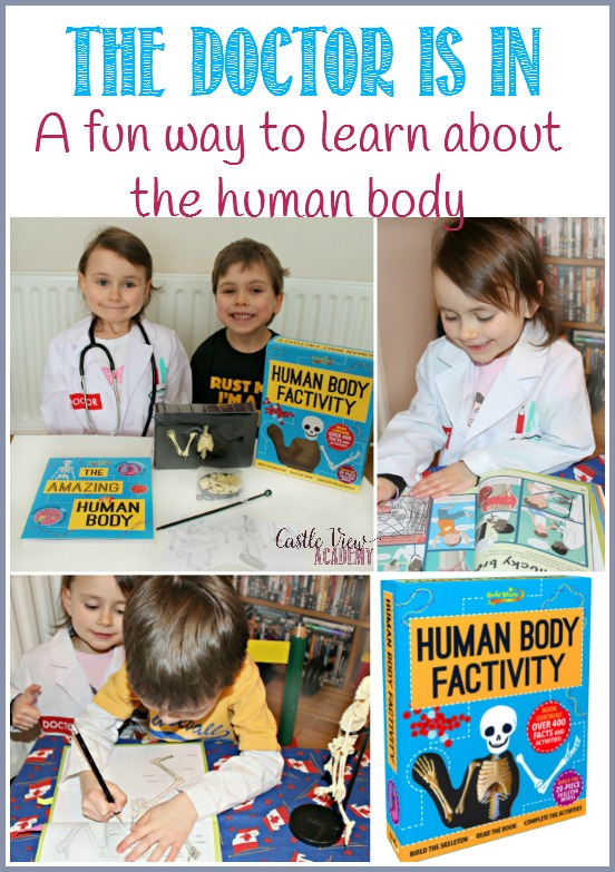 It's fun to learn about the human body with Human Body Factivity, A review by Castle View Academy - Copy