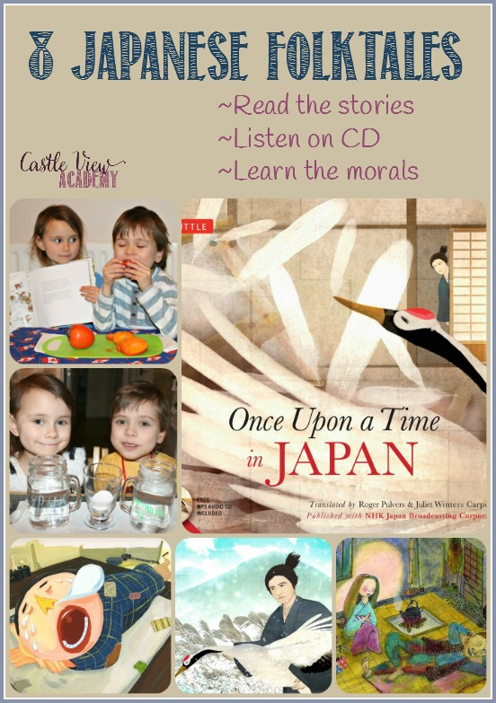 Once Upon a Time In Japan, 8 Japanese folktales, A review by Castle View Academy