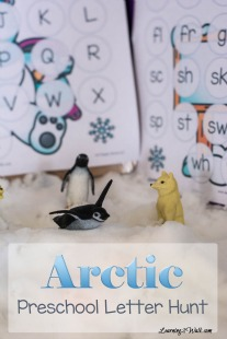 Our-arctic-preschool-letter-hunt-activity-was-a-fun-and-messy-one-We-dug-in-the-snow-to-find-our-missing-letters-and-match-them
