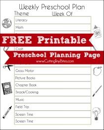 PrintablePreschoolPlanningPage