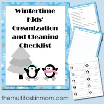 WIntertime-Kids-Organization-and-Cleaning-Checklis