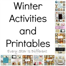 Winter Activities & Printables