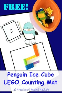 lego penguin ice skating math